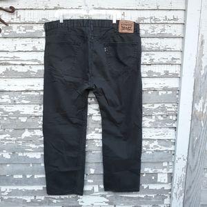 MENS LEVIS 505 black Jeans— Size 40/30